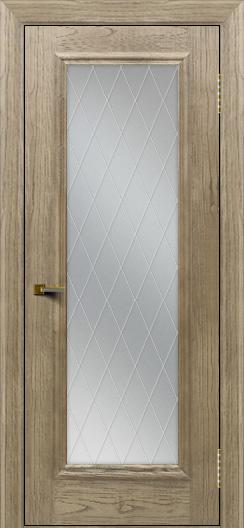 Двери ЛайнДор Валенсия тон 41 стекло Лондон