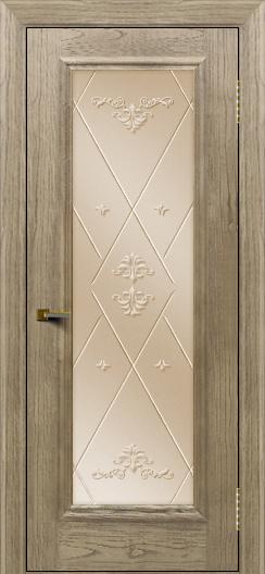 Двери ЛайнДор Валенсия тон 41 стекло Прима бронза