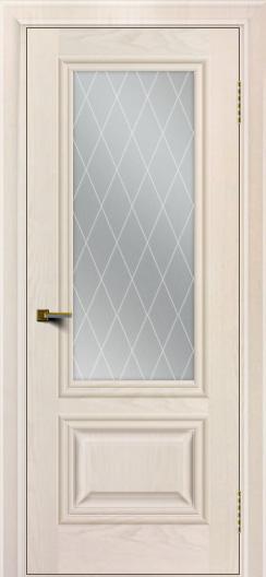 Двери ЛайнДор Виолетта жемчуг тон 27 стекло Лондон
