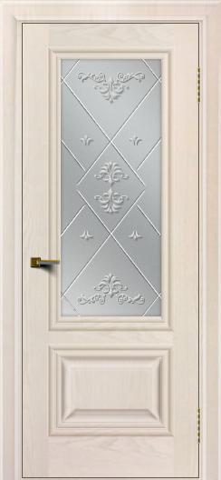 Двери ЛайнДор Виолетта жемчуг тон 27 стекло Прима