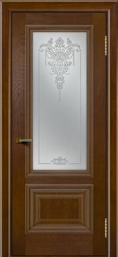 Двери ЛайнДор Виолетта тон 30 стекло Версаль