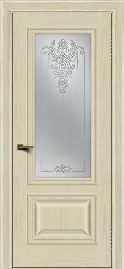 Двери ЛайнДор Виолетта тон 34 стекло Версаль