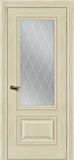 Двери ЛайнДор Виолетта тон 34 стекло Лондон