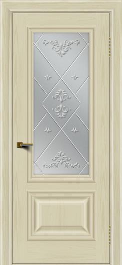 Двери ЛайнДор Виолетта тон 34 стекло Прима