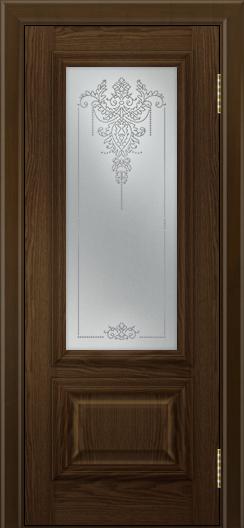 Двери ЛайнДор Виолетта тон 35 стекло Версаль