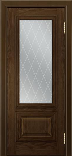 Двери ЛайнДор Виолетта тон 35 стекло Лондон