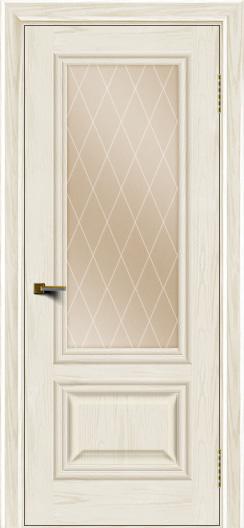 Двери ЛайнДор Виолетта тон 36 стекло Лондон бронза