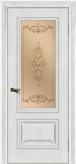 Двери ЛайнДор Виолетта тон 38 стекло Эрика