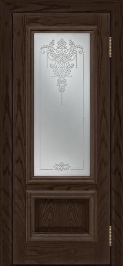 Двери ЛайнДор Виолетта тон 39 стекло Версаль