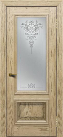 Двери ЛайнДор Виолетта тон 40 стекло Версаль