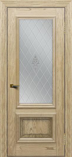 Двери ЛайнДор Виолетта тон 40 стекло Лилия