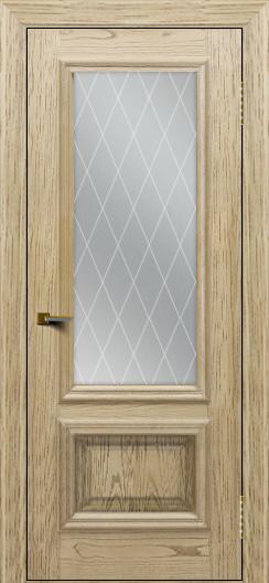 Двери ЛайнДор Виолетта тон 40 стекло Лондон