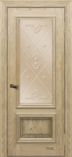 Двери ЛайнДор Виолетта тон 40 стекло Прима бронза