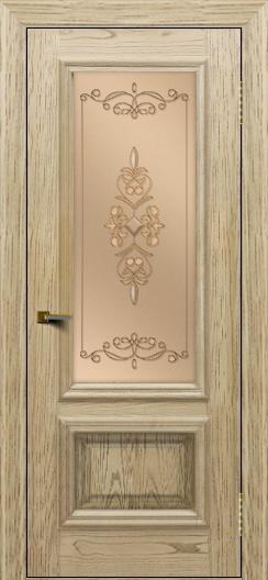 Двери ЛайнДор Виолетта тон 40 стекло Эрика
