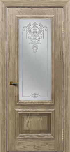 Двери ЛайнДор Виолетта тон 41 стекло Версаль
