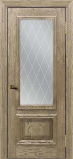 Двери ЛайнДор Виолетта тон 41 стекло Лондон