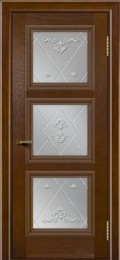 Двери ЛайнДор Грация тон 30 стекло Прима
