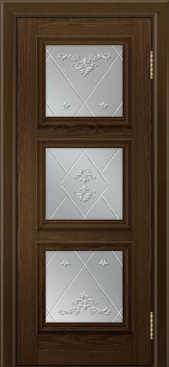 Двери ЛайнДор Грация тон 35 стекло Прима