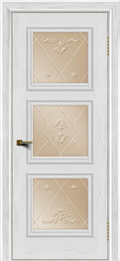 Двери ЛайнДор Грация тон 38 стекло Прима бронза