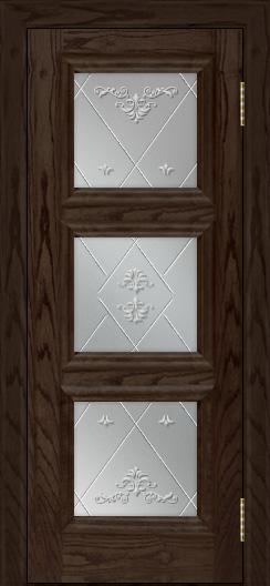 Двери ЛайнДор Грация тон 39 стекло Прима