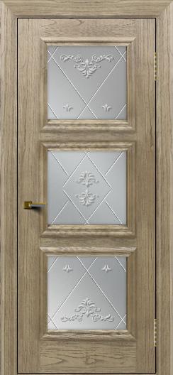 Двери ЛайнДор Грация тон 41 стекло Прима