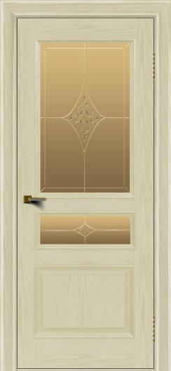 Двери ЛайнДор Калина тон 34 стекло Гелиос