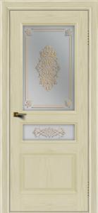 Двери ЛайнДор Калина тон 34 стекло Дамаск
