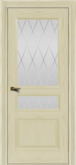 Двери ЛайнДор Калина тон 34 стекло Лондон