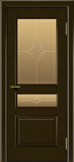 Двери ЛайнДор Калина тон 35 стекло Гелиос