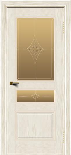 Двери ЛайнДор Калина тон 36 стекло Гелиос