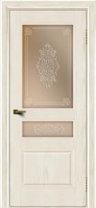 Двери ЛайнДор Калина тон 36 стекло Дамаск бронза