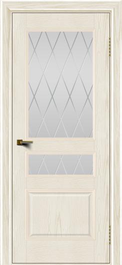 Двери ЛайнДор Калина тон 36 стекло Лондон