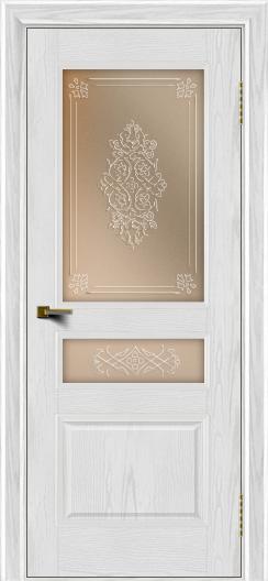 Двери ЛайнДор Калина тон 38 стекло Дамаск бронза