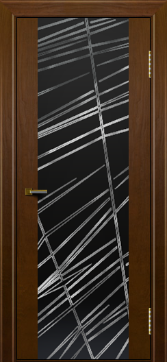 Двери ЛайнДор Камелия К тон 30 стекло Графит