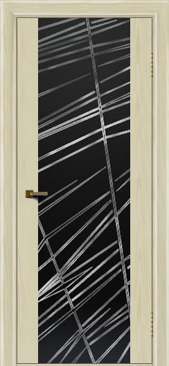 Двери ЛайнДор Камелия К тон 34 стекло Графит