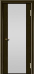 Двери ЛайнДор Камелия К тон 35 стекло Белое