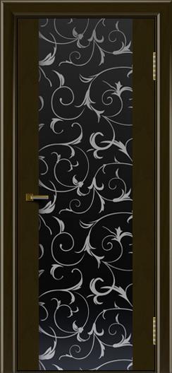 Двери ЛайнДор Камелия К тон 35 стекло Кружева