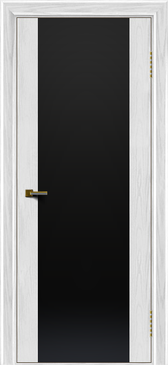 Двери ЛайнДор Камелия К тон 38 стекло Черное