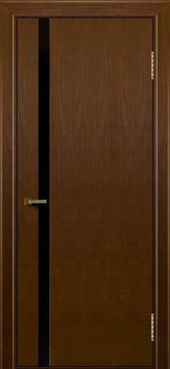 Двери ЛайнДор Камелия К1 тон 30 стекло Черное
