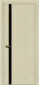 Двери ЛайнДор Камелия К1 тон 34 стекло Черное
