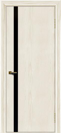 Двери ЛайнДор Камелия К1 тон 36 стекло Черное
