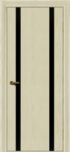 Двери ЛайнДор Камелия К2 тон 34 стекло Черное