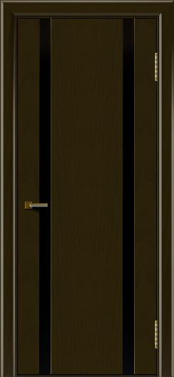 Двери ЛайнДор Камелия К2 тон 35 стекло Черное