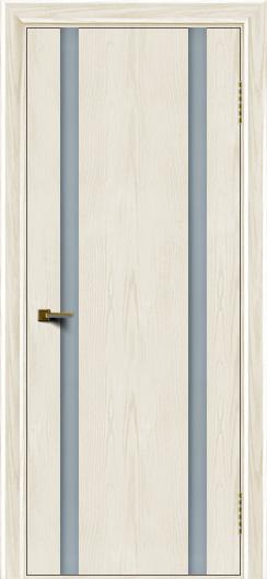 Двери ЛайнДор Камелия К2 тон 36 стекло Белое