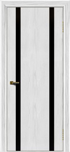 Двери ЛайнДор Камелия К2 тон 38 стекло Черное