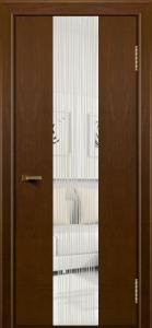 Двери ЛайнДор Камелия К4 тон 30 стекло Водопад