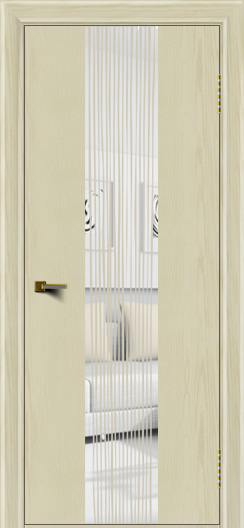 Двери ЛайнДор Камелия К4 тон 34 стекло Водопад