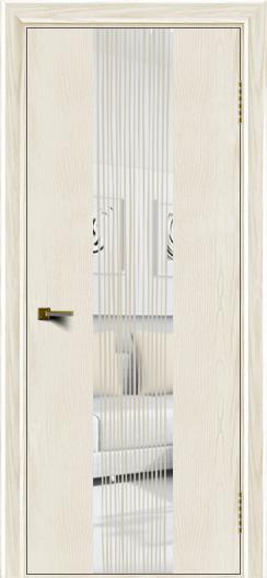 Двери ЛайнДор Камелия К4 тон 36 стекло Водопад