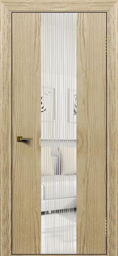 Двери ЛайнДор Камелия К4 тон 40 стекло Водопад