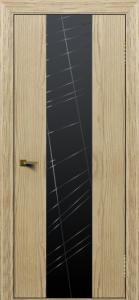 Двери ЛайнДор Камелия К4 тон 40 стекло Графит